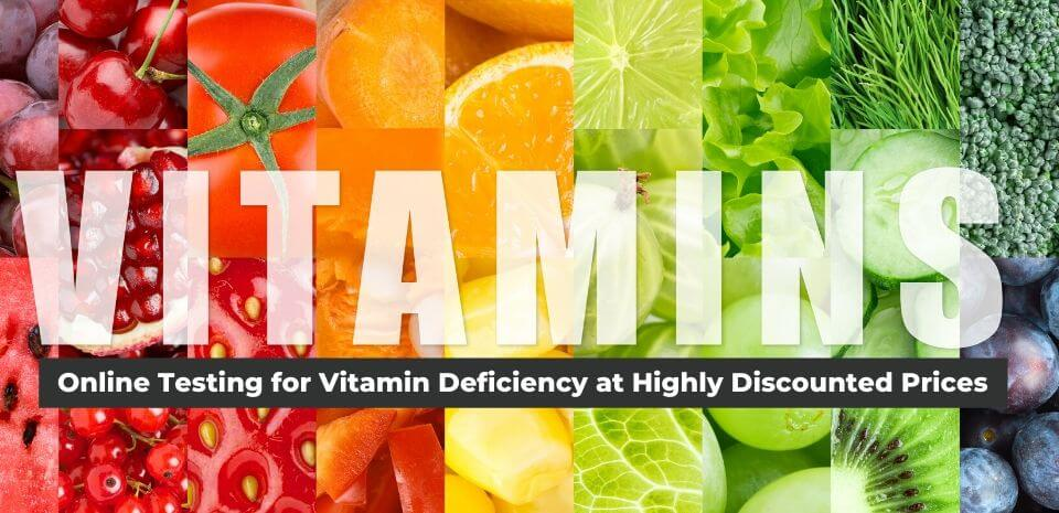Online Testing for Vitamin Deficiency at Highly Discounted Prices - Banner